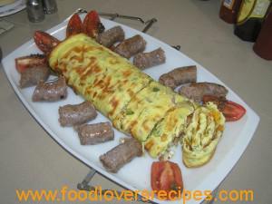 omelet rol adam