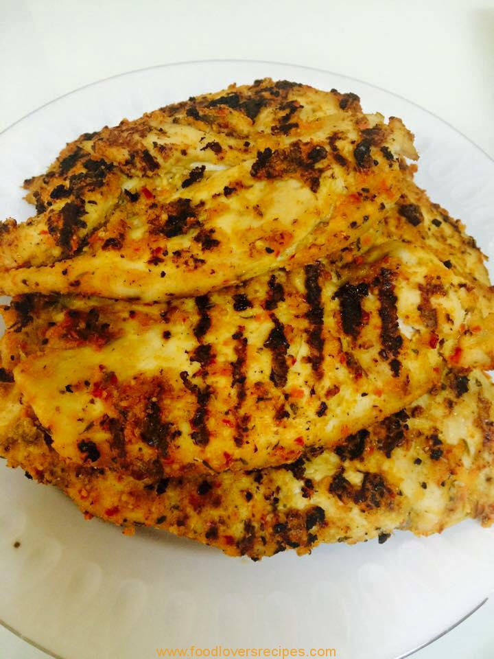 Food Lovers Recipes | Chicken herb and garlic with creamy ...