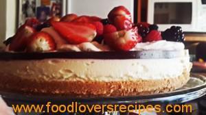 strawberry cheesecake Carla