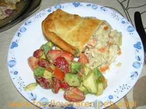 Food Lovers Recipes | ROASTED CHICKEN POT PIE WITH SWEET ...