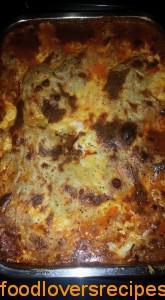 tuisgemaakte lasagne