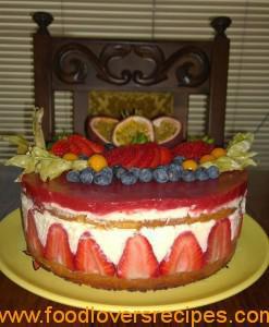 wilanda se strawberry koek