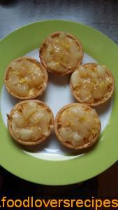 Lemon and Pear Tartlets
