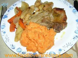 oven baked pork chop adam