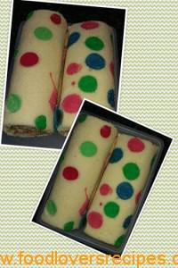 swiss roll with spots