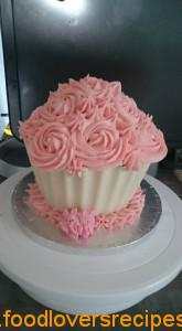 giant cupcake NAdine