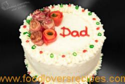 MEATLOAF CAKE WITH BACON ROSES1