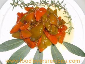 ingelegde peppa-dews