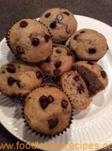 FLR Banana Chocolate muffins