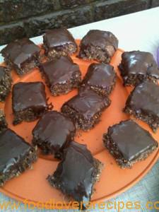 choc fudge squers