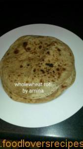 wholewheat roti
