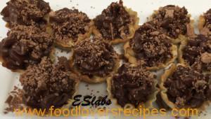 ESlabs Triple Chocolate Mini Fillo Cups
