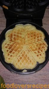 Mariska homemade waffles