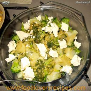 patat en broccoli slaai