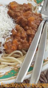 heerlike spaghetti bolognaise