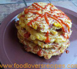 ... Recipes | BACON AND CORN GRIDDLE CAKESBACON AND CORN GRIDDLE CAKES