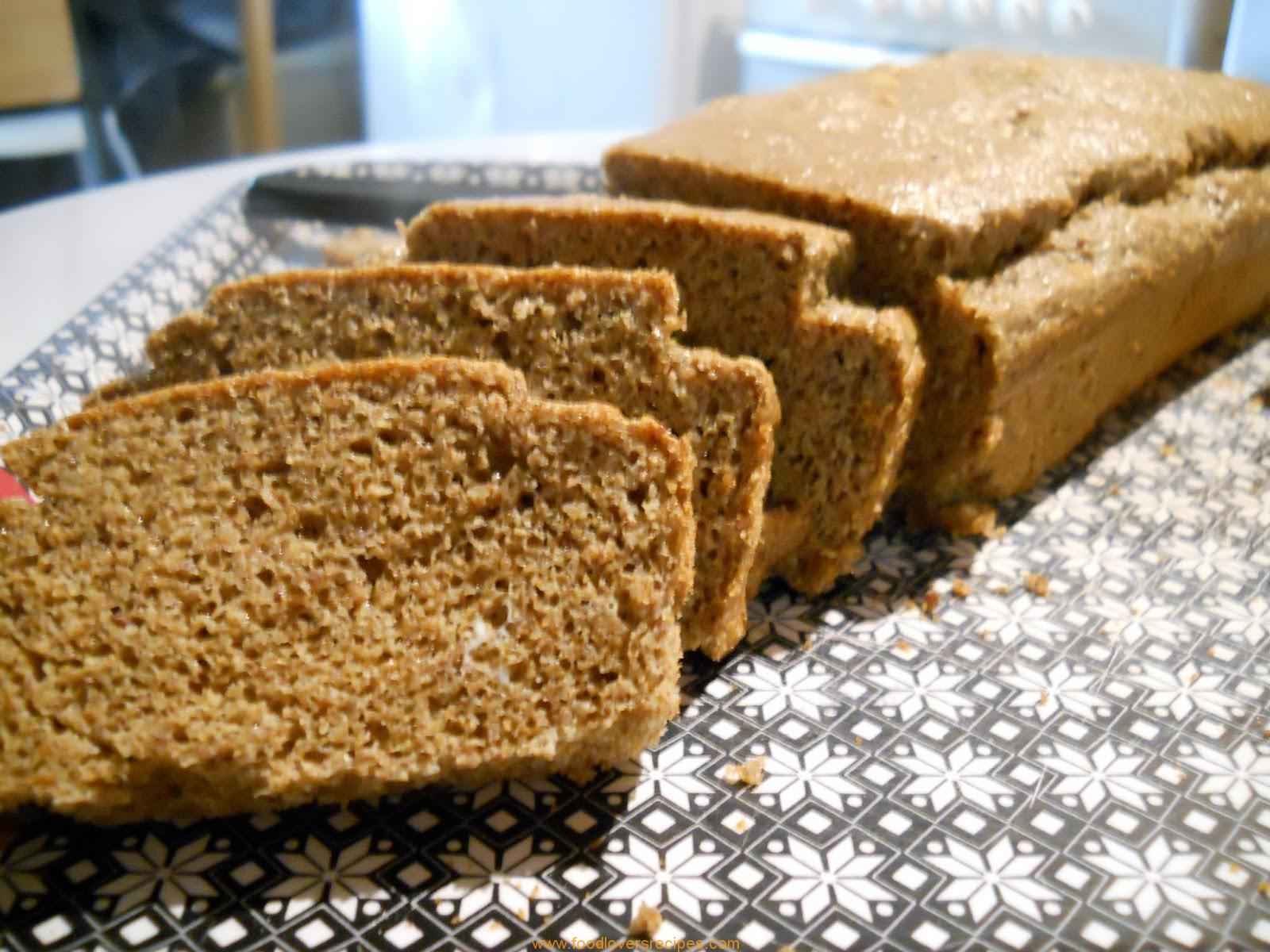 Food Lovers Recipes Flax Seed Loaf Low Carbflax Seed