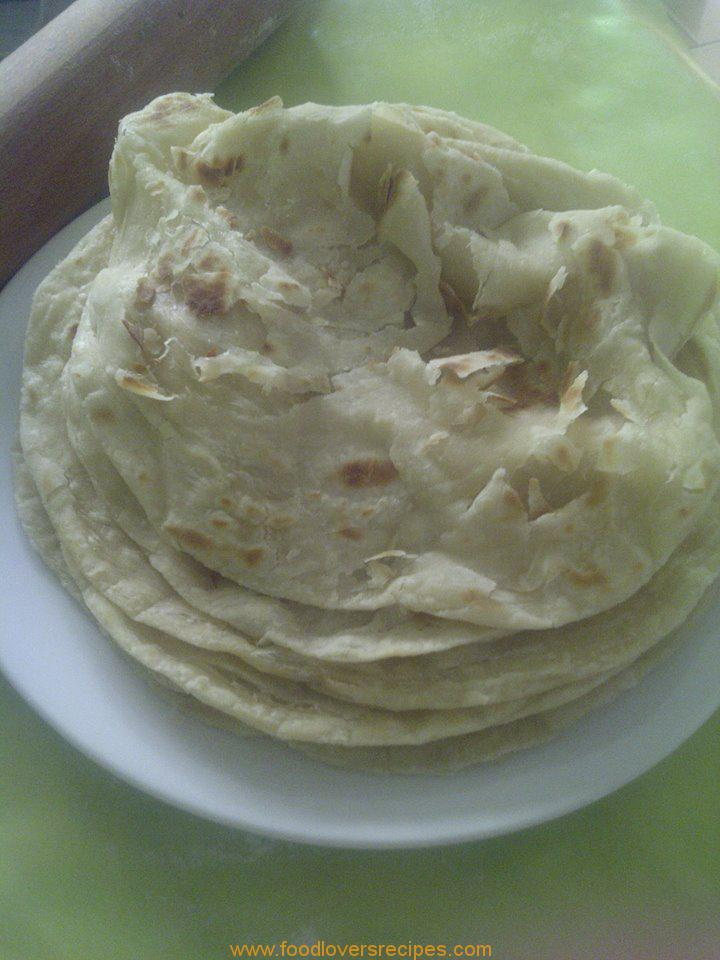 how to make naan roti