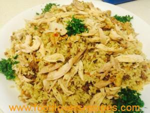 2015-05-04-chickenwithriceandminemeat