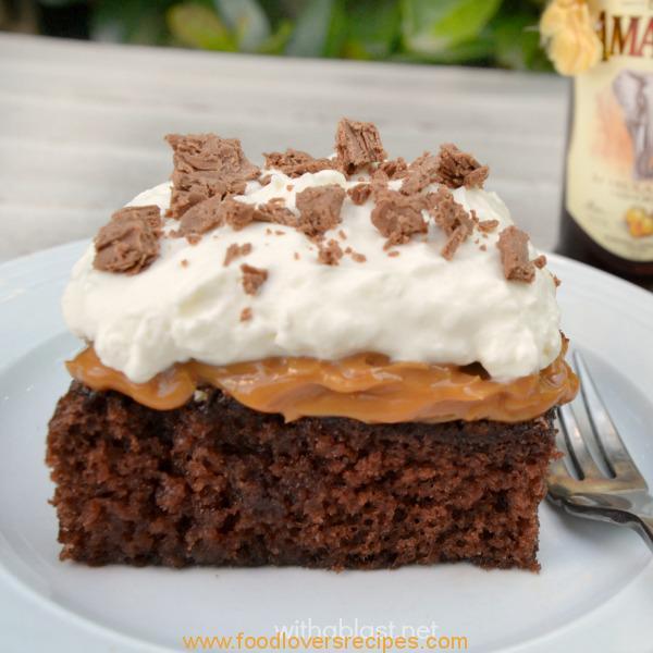 Amarula Caramel Cake