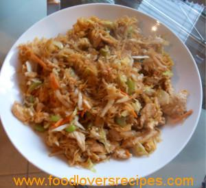 Low carb chicken lo mein recipe